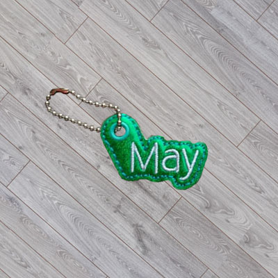 May Month Charm Digital File