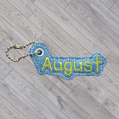 August Charm Digital File