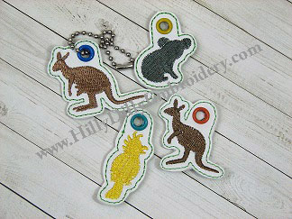 Aussie2 Charm Set Digital Design File