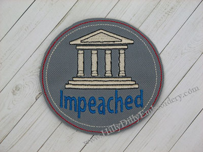 Impeach Court House Coaster Digital Design File