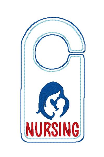 Nursing Door Knob Hanger Digital File