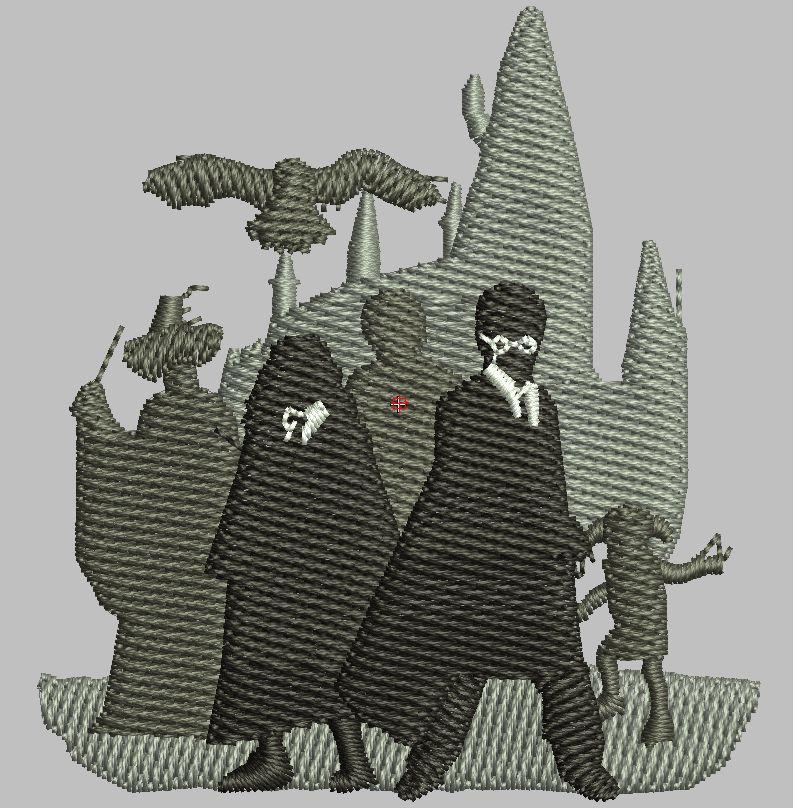 "Harry Shadows 2.5"" Digital Design"