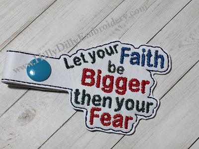 Let Your Faith Snap Tab Digital File