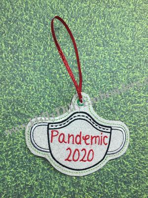 Pandemic Mask 2020 Ornament