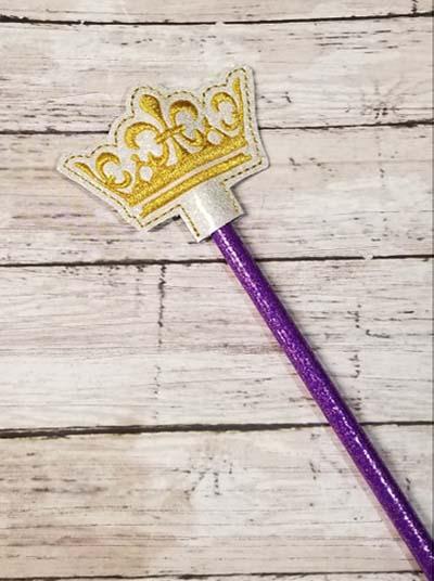 Pencil Crown 3 Topper Digital File