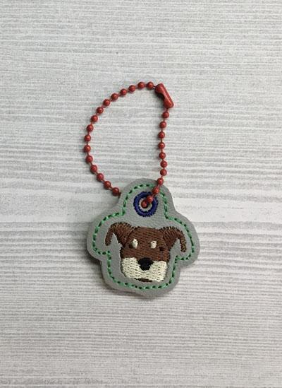 Rottweiler Dog Head Charm Digital File