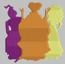 S Sisters Feltie Digital Design File