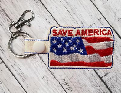 Save America1 Fob Set Digital Design File