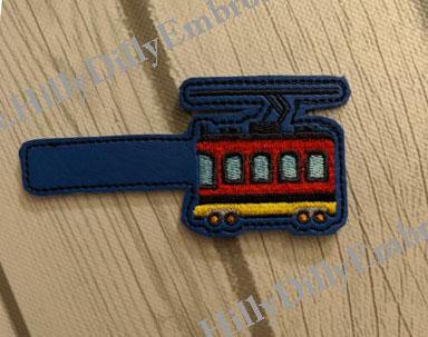 Trolley Snap Tab Digital File