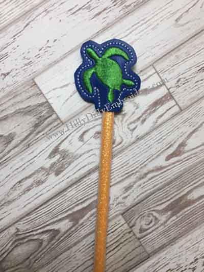 Turtle Silo Pencil Topper Digital Design File