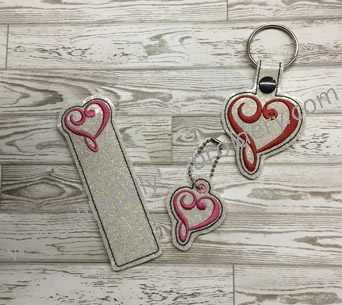 Twisted Heart Gift Set Digital Files