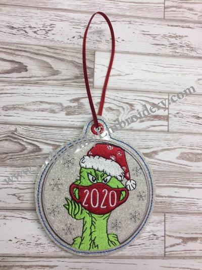 Mean One 2020 MAsk Ornament Digital File