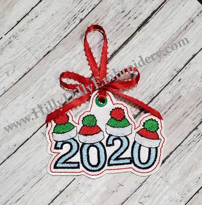 2020 Knit Hats Ornament Digital File