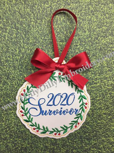 2020 Survivor Ornament