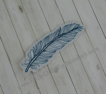 Feather1 Book Mark Digital File