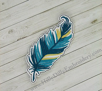Feather3 Book Mark Digital Design