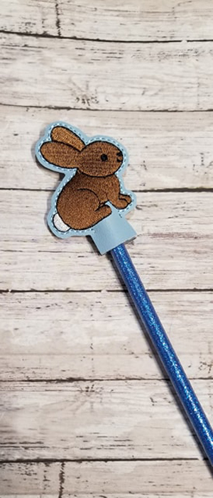 Baby Bunny Pencil Topper Digital File