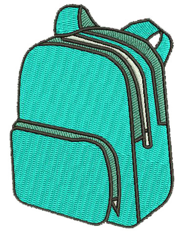 Backpack Snap Tab Digital File