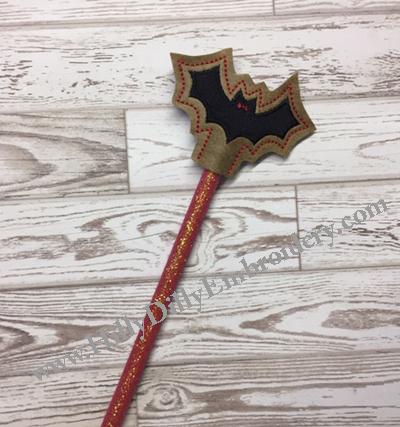 Bat Pencil Topper Digital Design