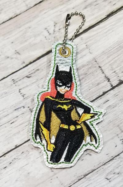Girl Bat Snap Tab & Eyelet Set  Digital File