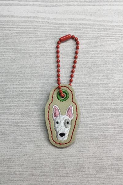 Bull Terrier Dog Head Charm Digital File