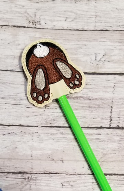 Bunny Butt Pencil Topper Digital File