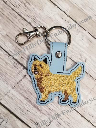 Cairn Terrier2 Snap Tab Digital File