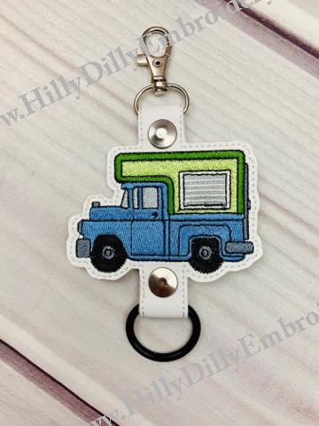 Camper Truck Bottle Holder Digital File