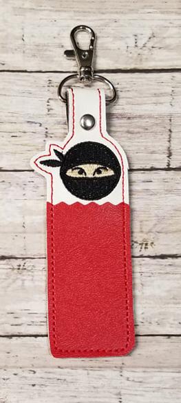 Ninja Head Lip Balm Holder Digital File