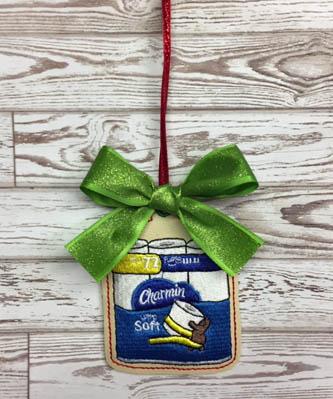 Charmin Toilet Paper Ornament Digital File