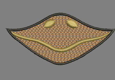 Chick Beak Quick Stitch 4x4 Digital Design File