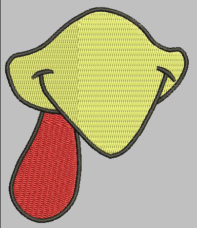 Chicken Beak 4x4 Design Digital File
