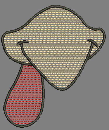 Chicken Beak Quick Stitch Design Digital File