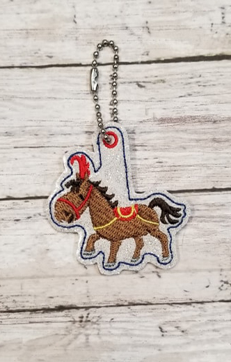 Circus Horse Charm Digital File