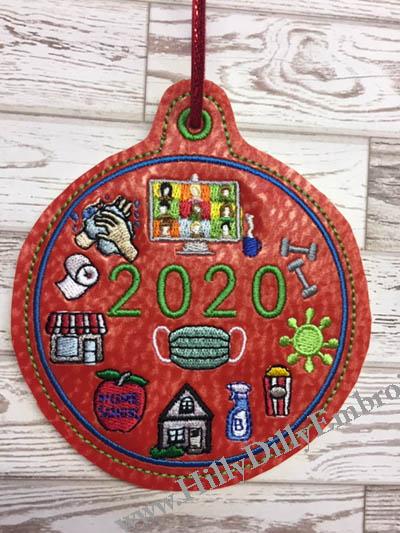 Covid All Ornament Digital File