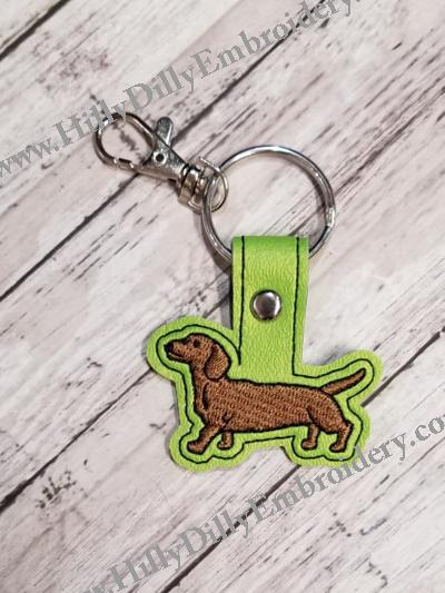 Dachshund Dog Snap Tab Digital File