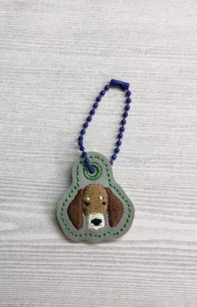 Dachshund Dog Head Charm Digital Design File