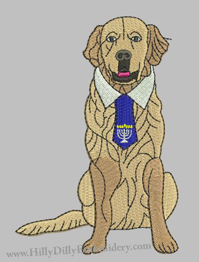 Golden Retriever 5x7 Digital Design FIle