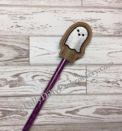 Ghost Pencil Topper Digital File