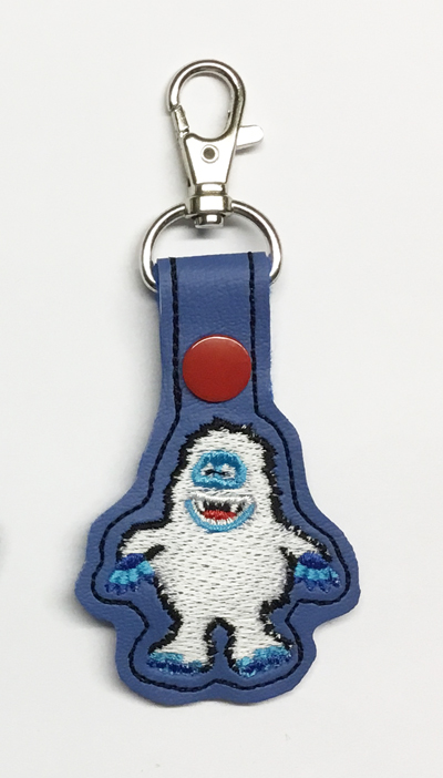 Snow Monster Snap Tab Digital File