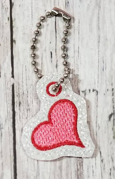 Heart Charm Digital File