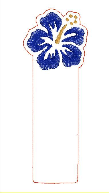 Hibiscus Book Mark Digital File