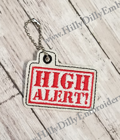 High Alert Snap Tab Digital File