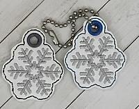 Snowflake Charm Digital Design File