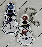 Snowman2 Charm Digital File