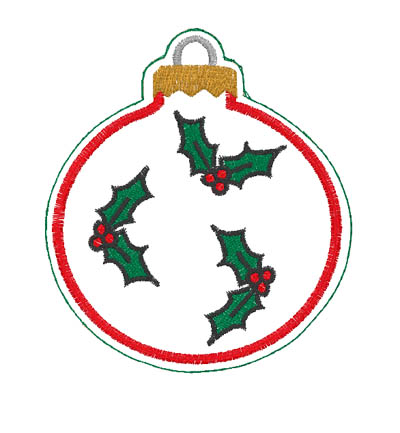 Hollys Ornament Digital Design File