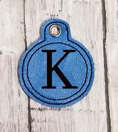 K Circle Eyelet Digital File