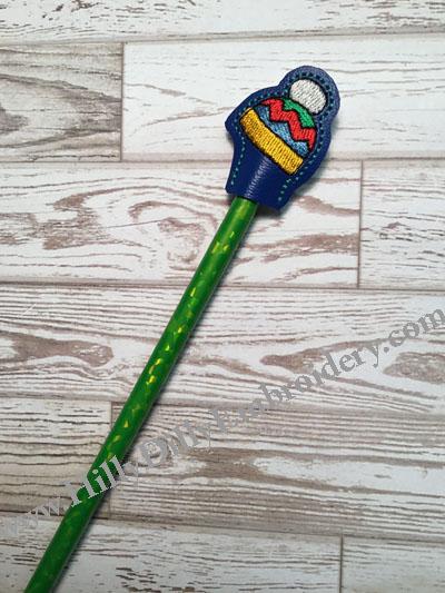 Knit Hat Pencil Topper Digital File