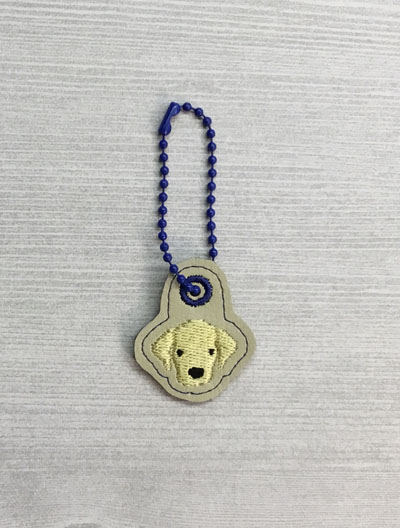 Labrador Dog Head Charm Digital File