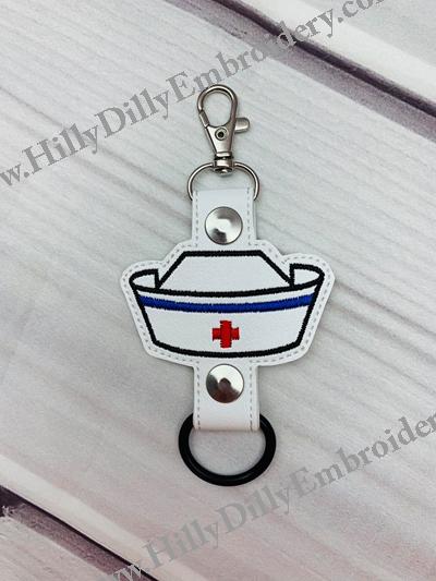 Nurse Hat Bottle Holder Digital Design File